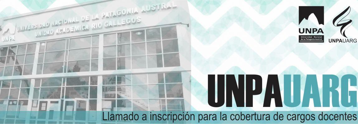 Escuela de Letras: Inscripción para la cobertura de cargos docentes en la UNPA-UARG