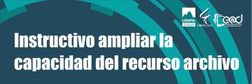#09: Ampliar la capacidad de archivos